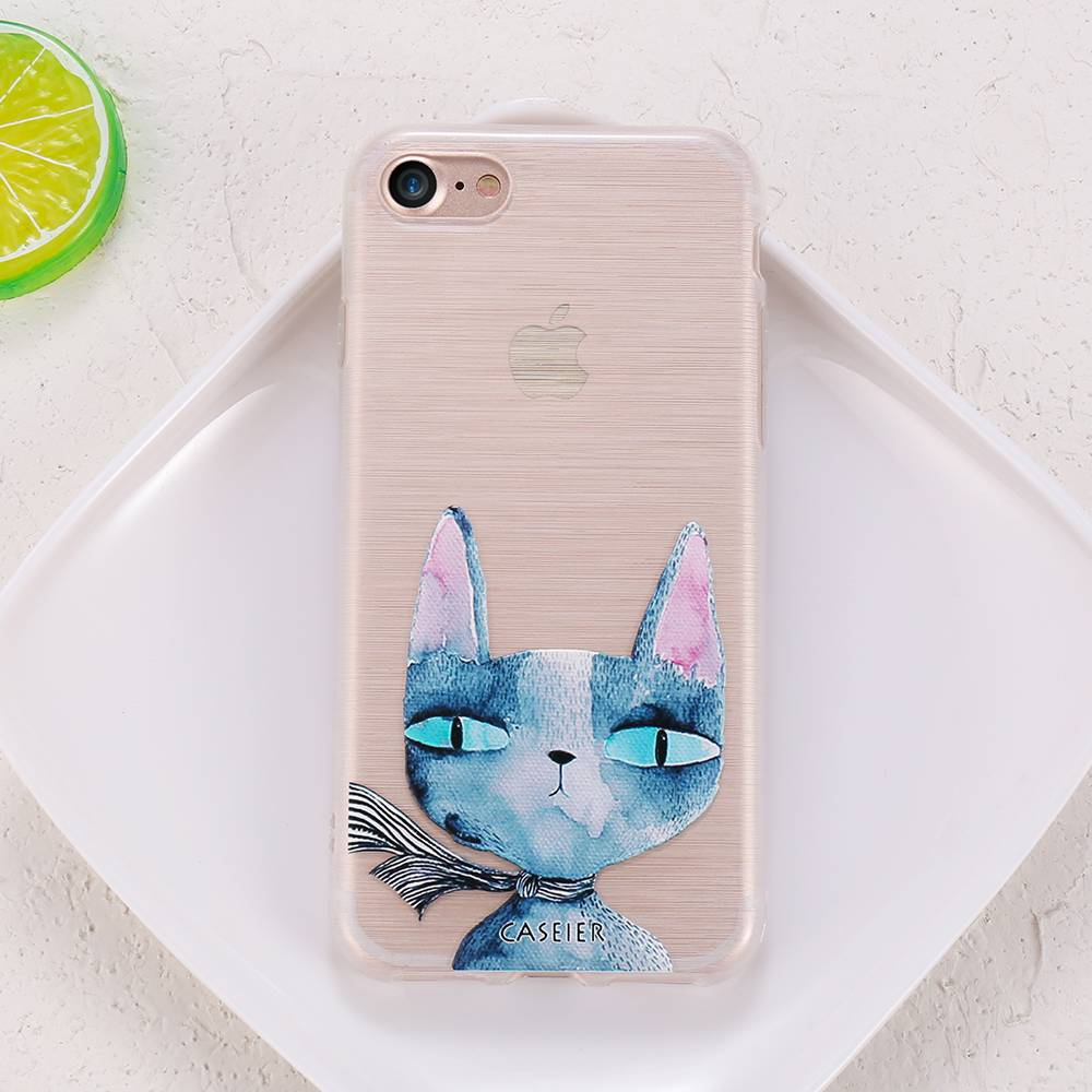 Cat Soft Phone Case for iPhone For Pet Lovers Phone Accessories