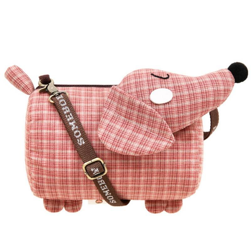 Women's Dachshund Dog Shaped Small Crossbody Bags Bags & Wallets For Pet Lovers