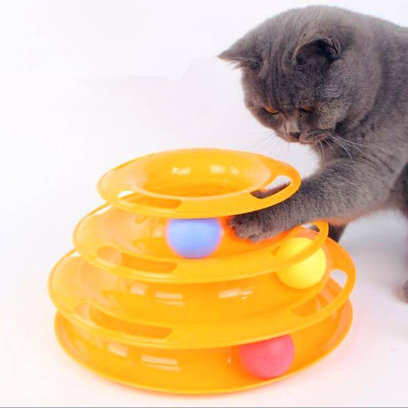 Cat's Three Levels Tower Toy Cats Toys