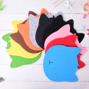 Cat Shaped Mouse Pad For Pet Lovers Tablet & Laptop Accessories
