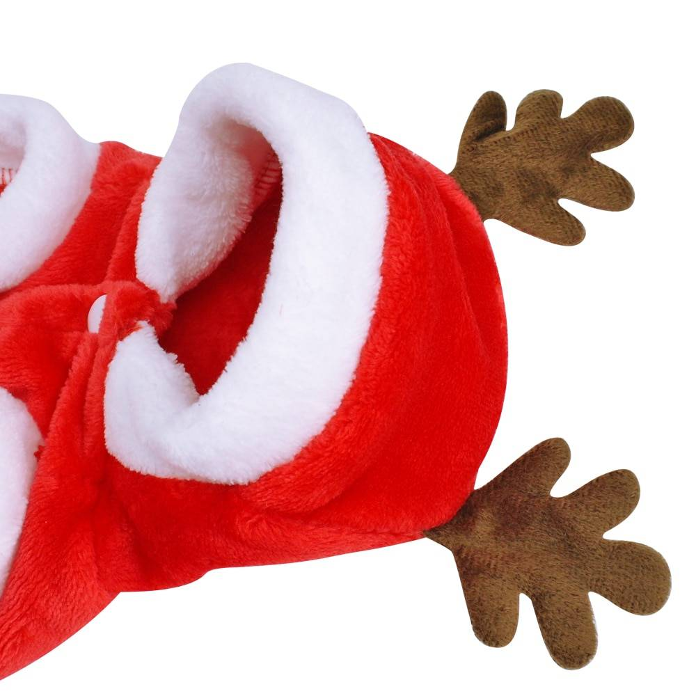 Christmas Style Flannel Dog Jacket Pet Christmas Costume and Toy