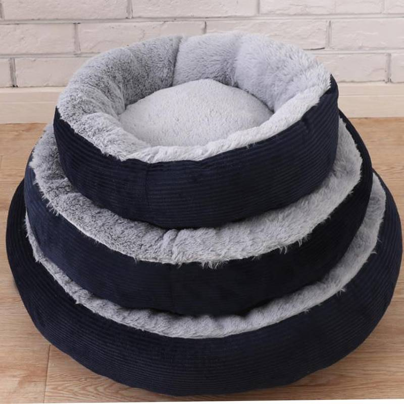 Soft Pet Bed with Detachable Cushion