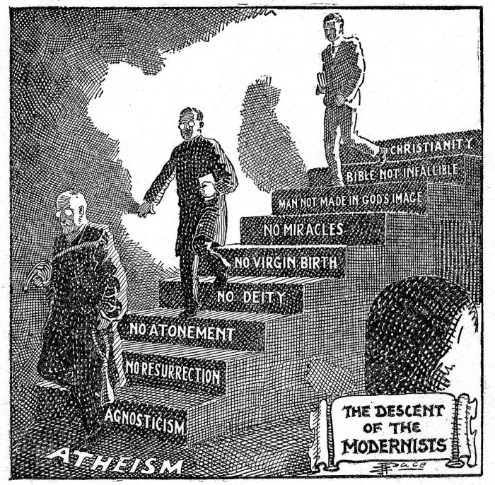 1200px-Descent_of_the_Modernists,_E._J._Pace,_Christian_Cartoons,_1922
