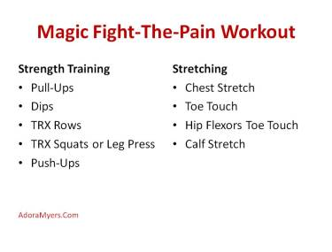 Magic Fight-The-Pain Workout