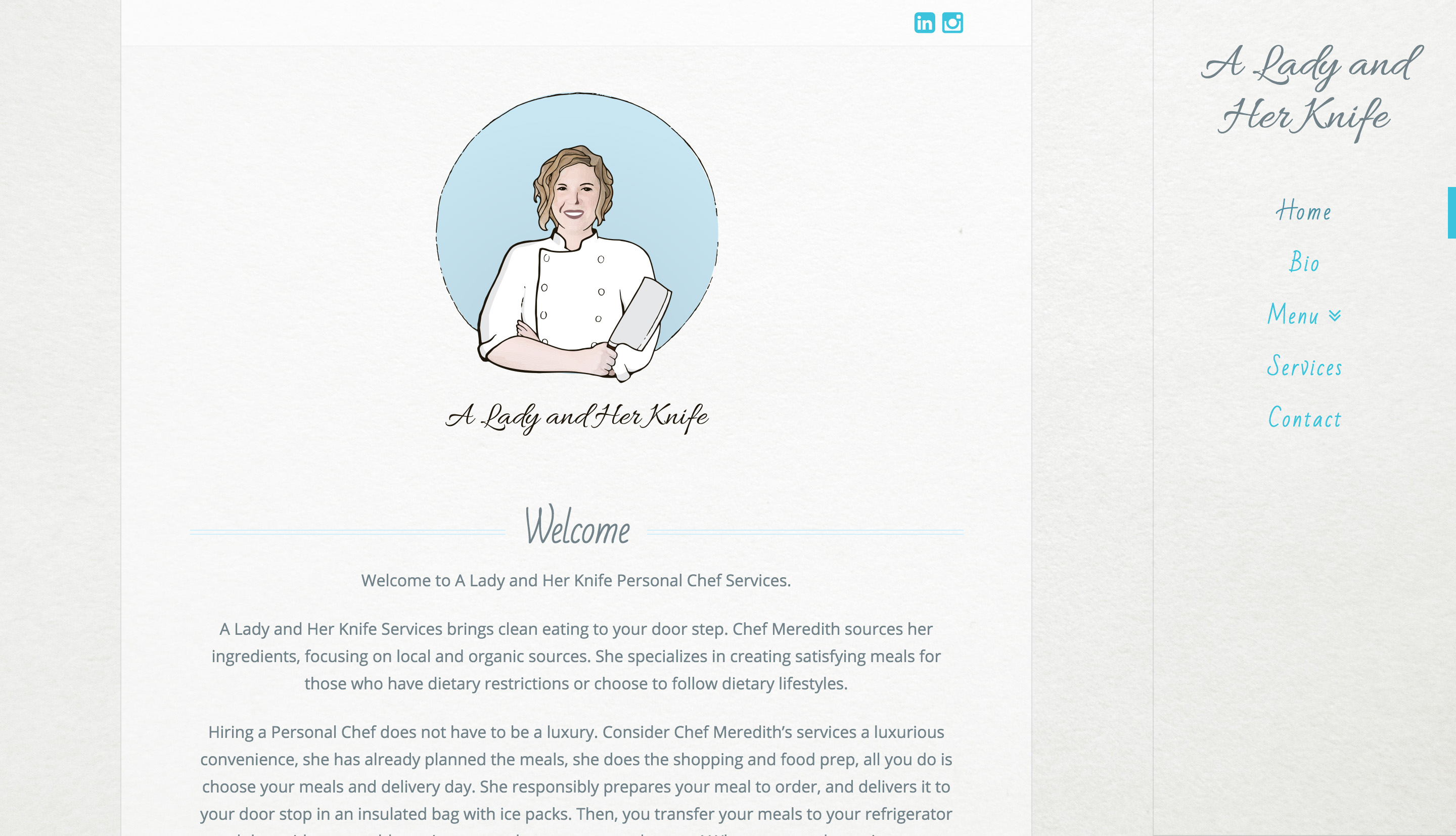 A Lady and Her Knife Home Page