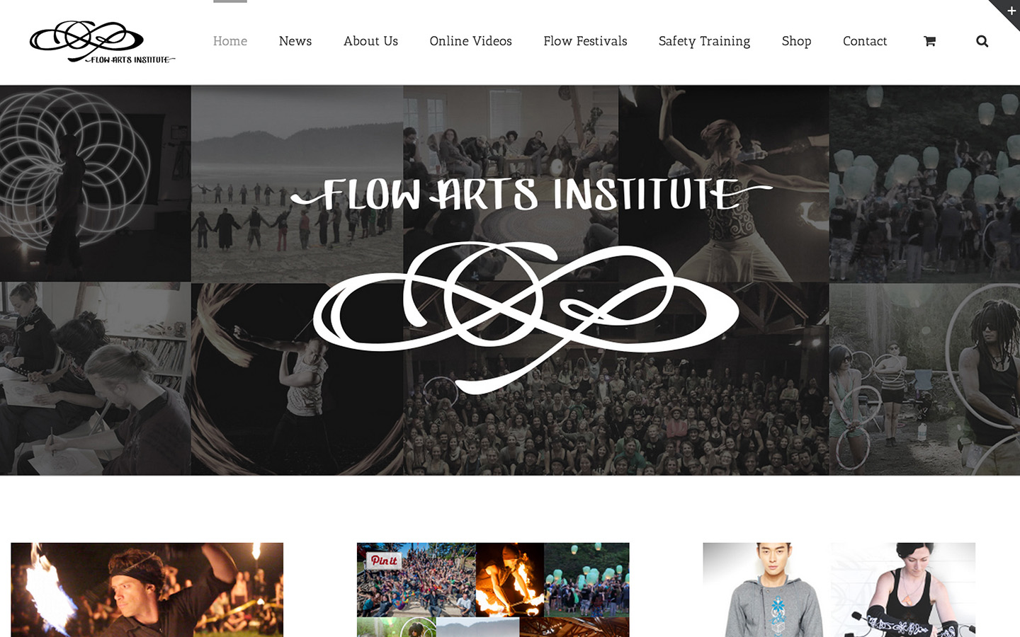 Flow Arts Institute Home Page