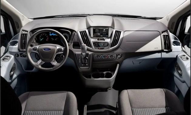 2020 Ford Transit 15 Passenger Van Inside