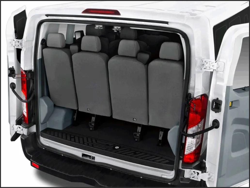 2020 Ford Transit 15 Passenger Van Interior