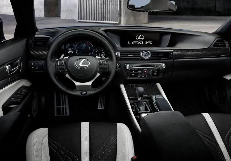 2020 Lexus GS Interior Leather & Colors