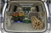2020 Nissan Quest Mini Van Trunk Capacity
