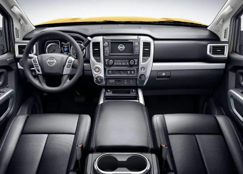 2020 Nissan Titan XD Interior Features
