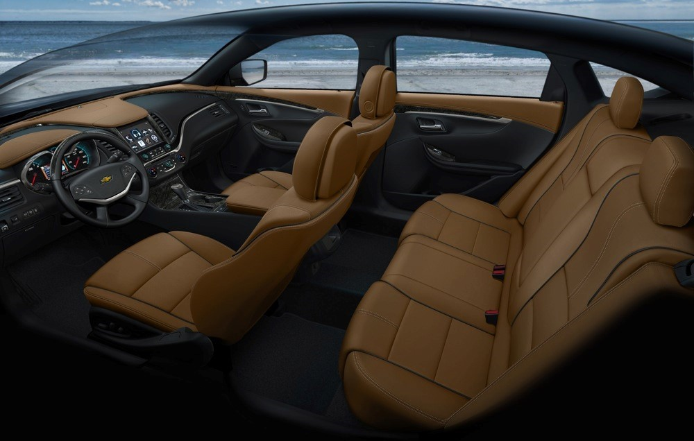 2020 Chevy Impala Interior Dimensions Seat Capacity