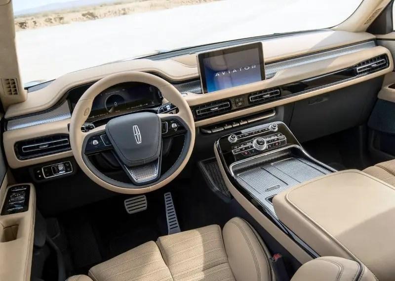 2020 Lincoln Aviator Interior Capacity