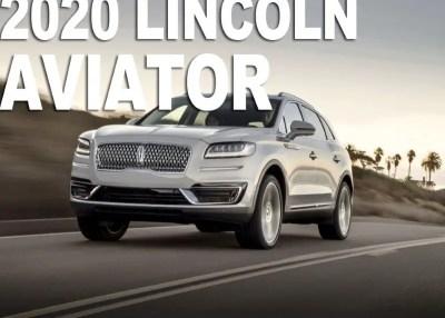 2020 Lincoln Aviator Release Date, Redesign & Specs