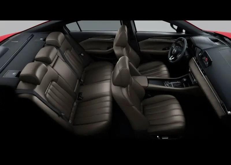 2020 Mazda 6 Interior layout