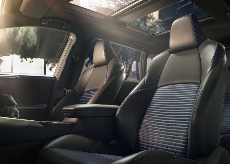 2020 Toyota RAV4 SUV Interior Dimensions