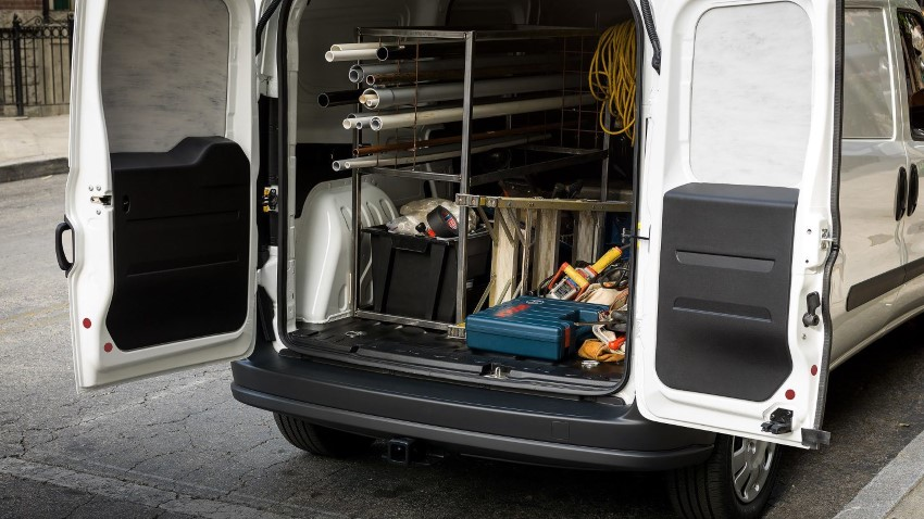 2020 RAM ProMaster City Loading Volume & Capacity