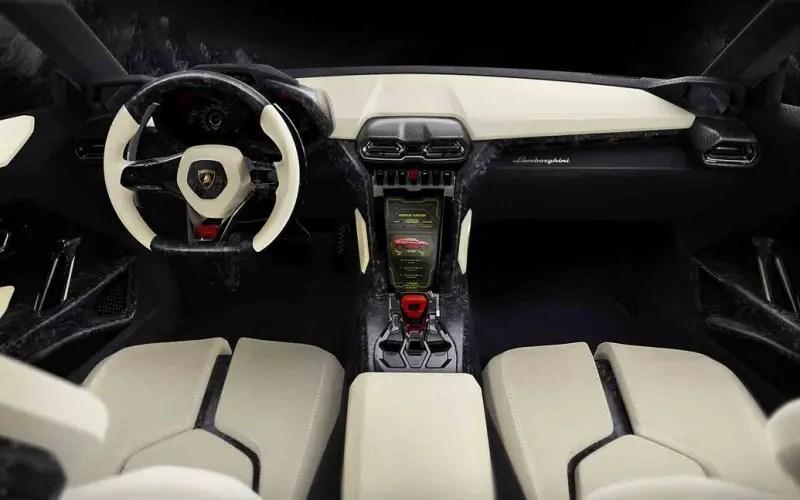 2020 Lamborghini Urus Interior WIth Autonomous System