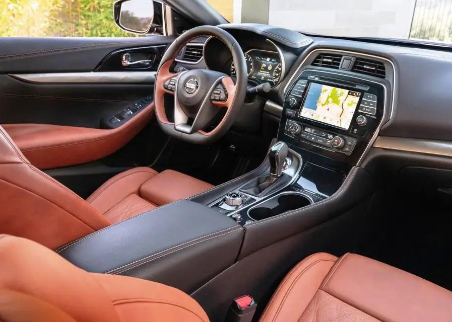 2020 Nissan Maxima Interior Changes