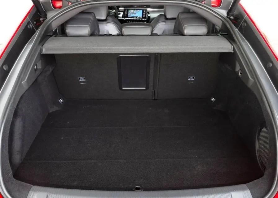 2020 Peugeot 508 Trunk Volume