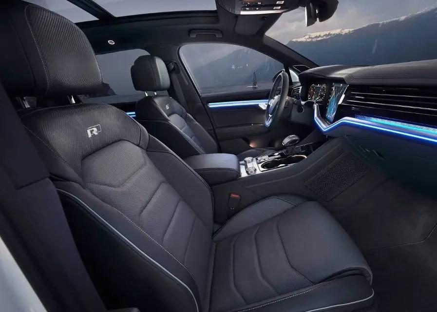 2020 VW Touareg Interior Changes