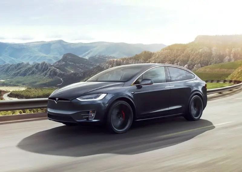 2020 Tesla Model X Range