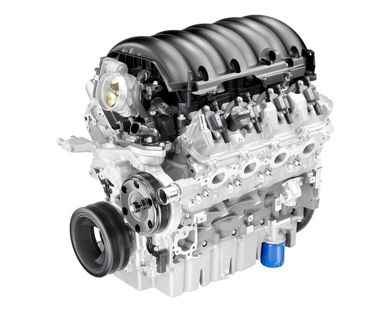 6.2-liter Ford Engine Images
