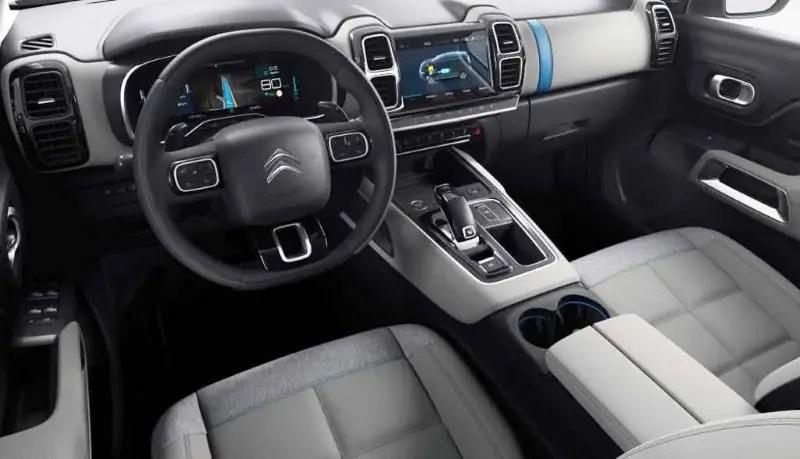 2020 Citroen C5 Aircross Hybrid Interior