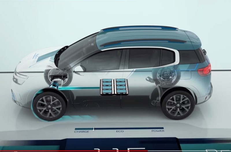 2020 Citroen C5 Aircross Hybrid SUV Dimensions
