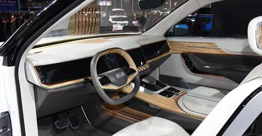 2020 Jeep Yuntu Interior Images