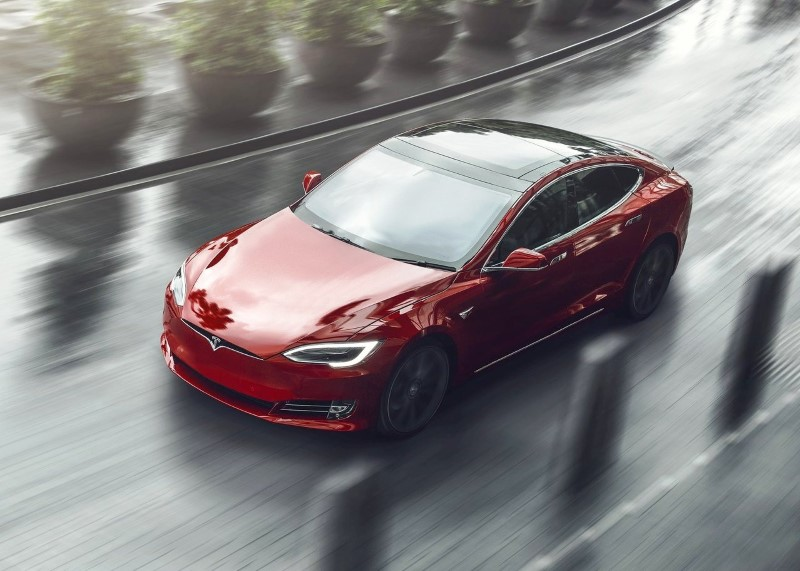 2020 Tesla Model S 100D Improvement