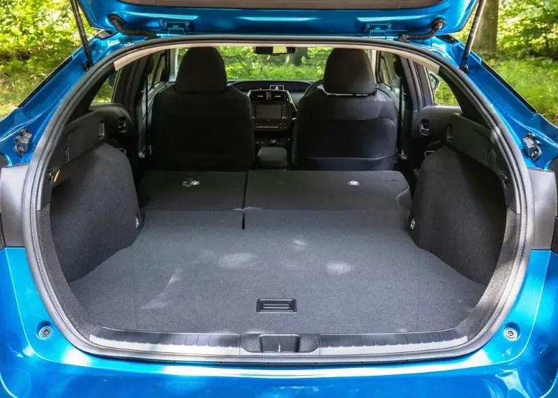 2020 Toyota Prius Trunk Capacity