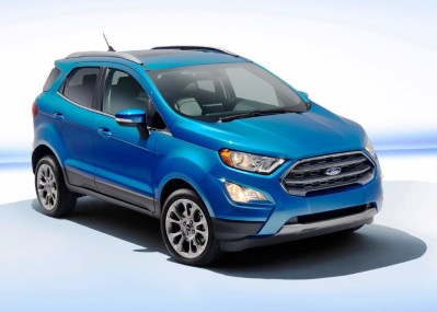 2020 Ford Ecosport Review | Design, Specs & Price
