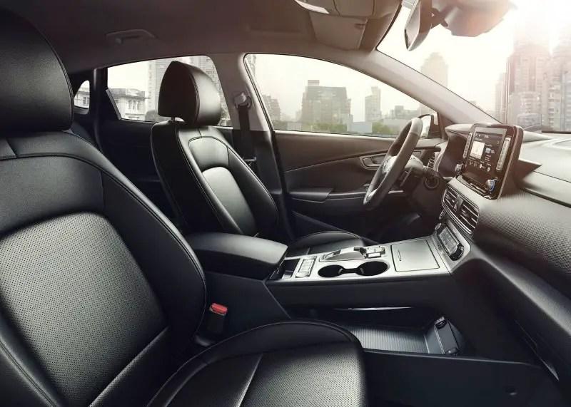 2020 Hyundai Kona Electric Interior Loading Capacity
