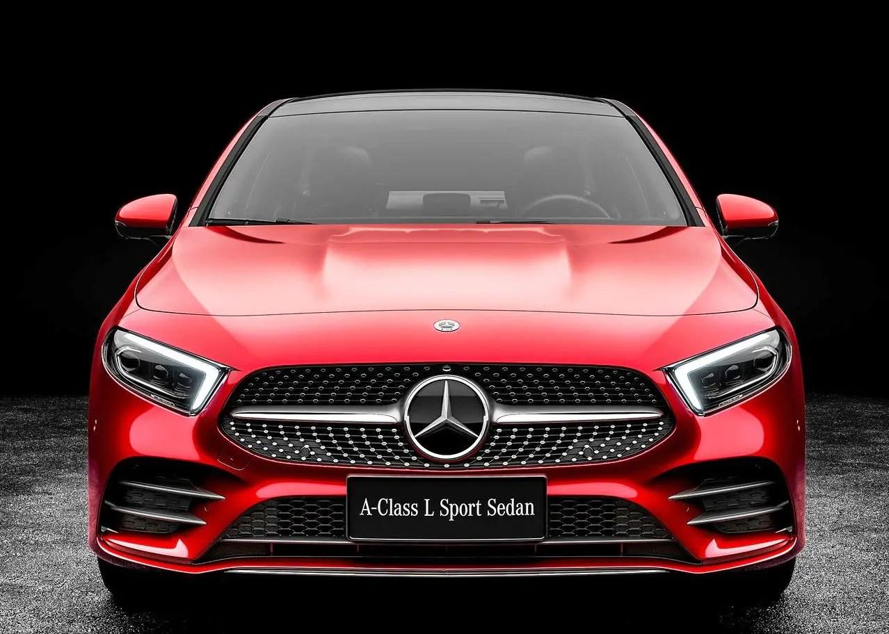2020 Mercedes A-Class L Sedan Concept Design