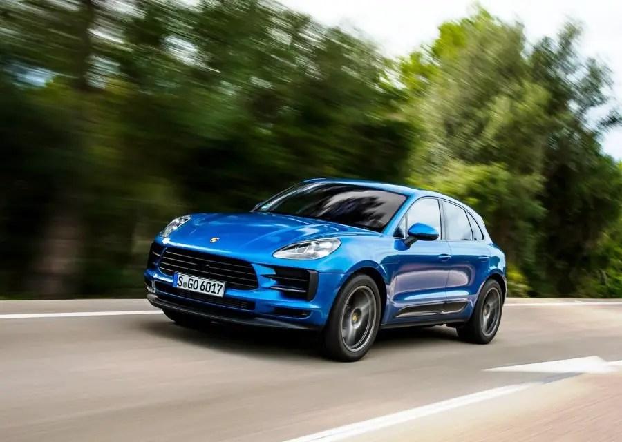 2020 Porsche Macan Blue Color Hybrid