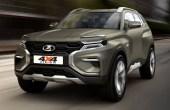 2020 LADA 4X4 Vision SUV Dimensions