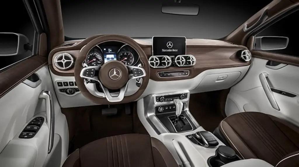 2020 Mercedes X-Class Interior