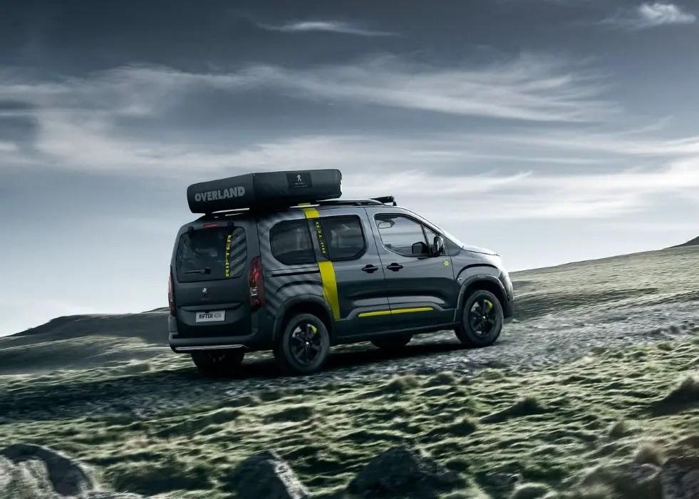2020 Peugeot Rifter 4X4 Features