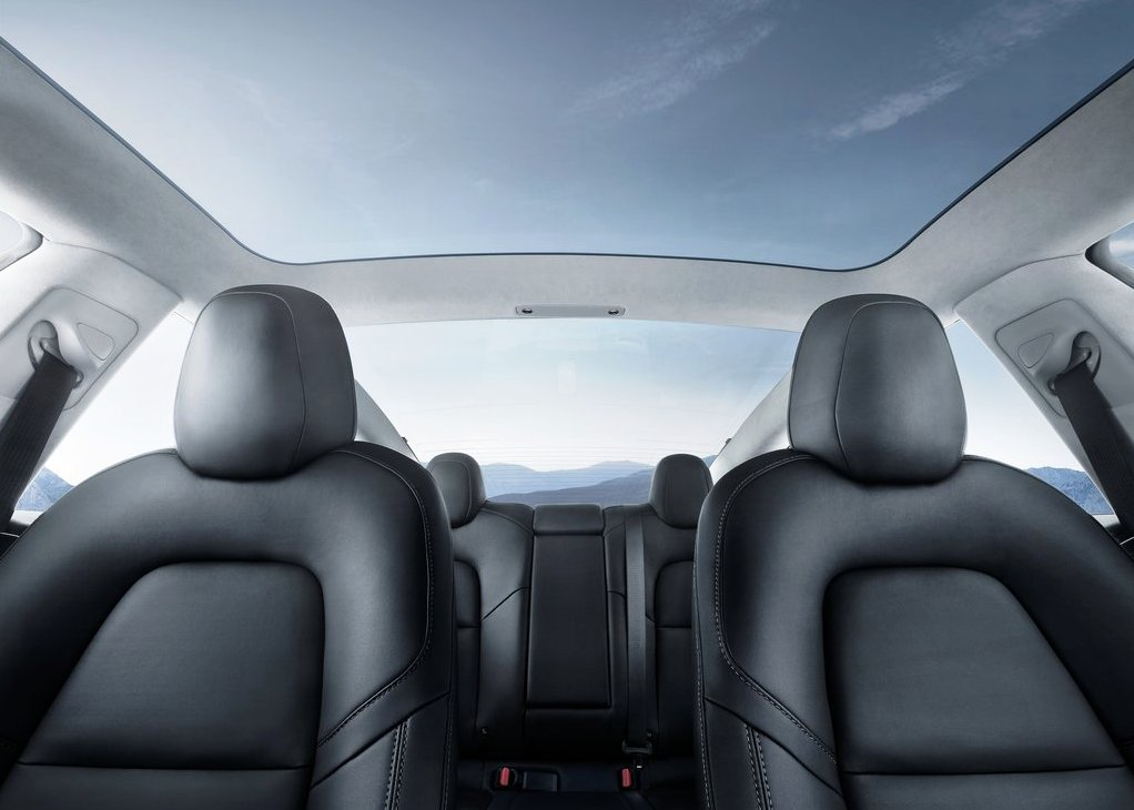 2020 Tesla Model 3 Interior Updates