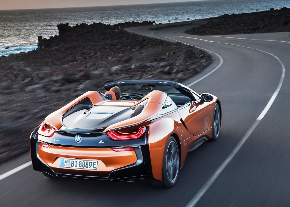 2020 BMW i8 Roadster Hybrid Mileage