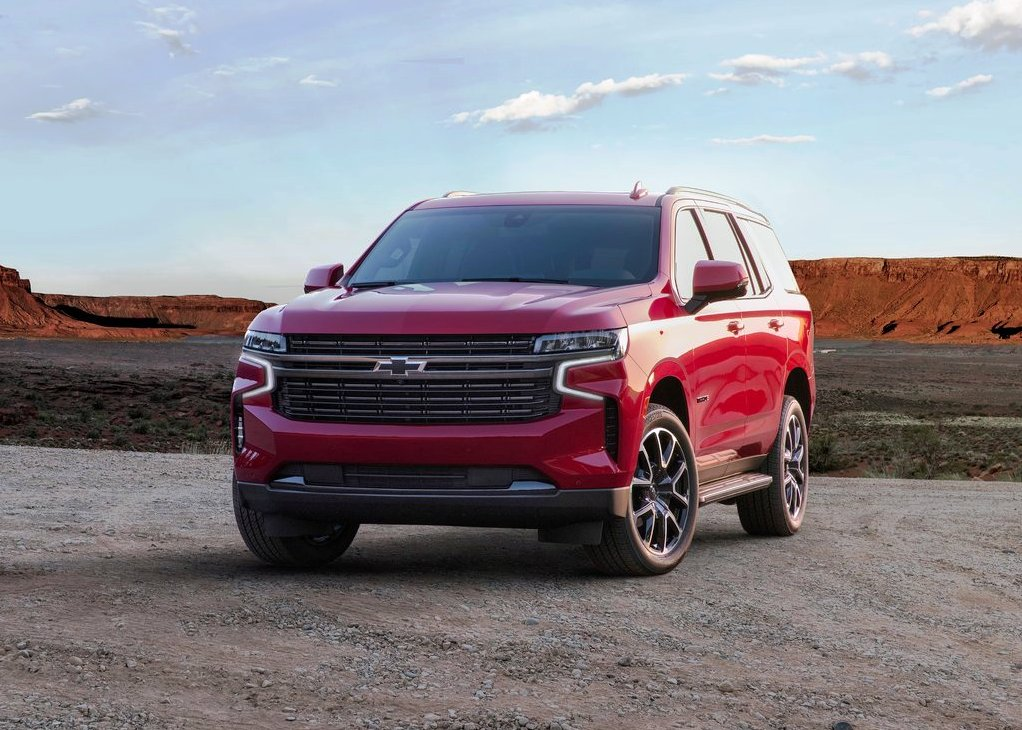 2021 Chevy Tahoe Pictures Red Color