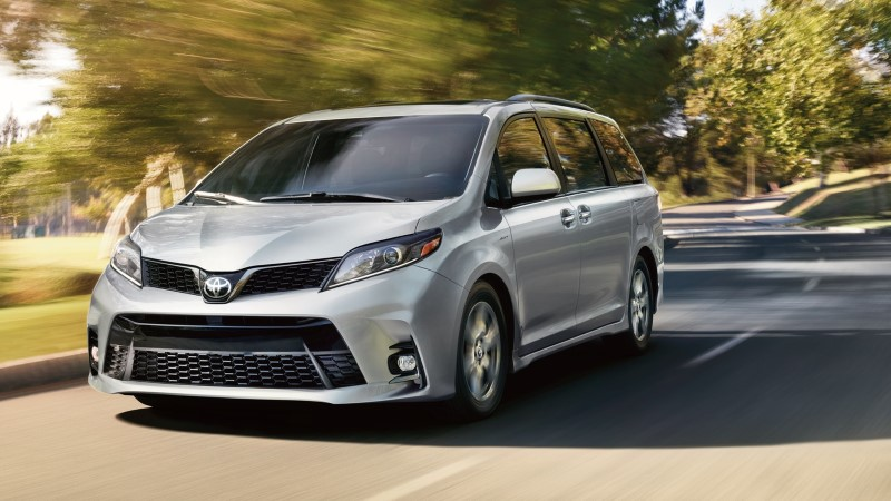 2021 Toyota Sienna Fuel Economy