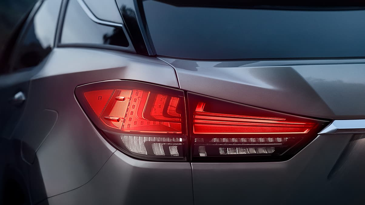 2021 Lexus RX 350 Tail Lamps Changes