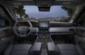 2021 Lincoln Navigator Black Interior Dashboard
