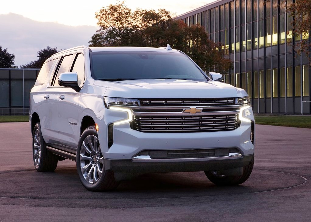 2021 Chevy Suburban Exterior Images