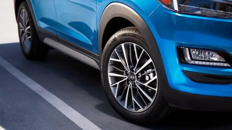 2021 Hyundai Tucson Wheel Size