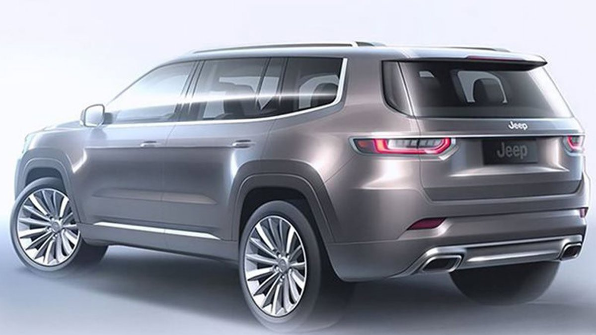 2021 Jeep Wagoneer Concept Design