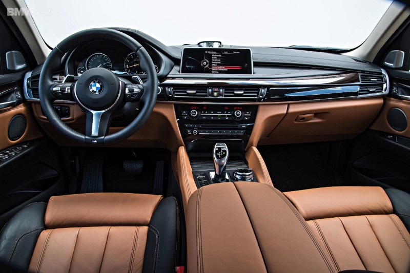 2021 BMW X6 Interior features With iDrive Platform