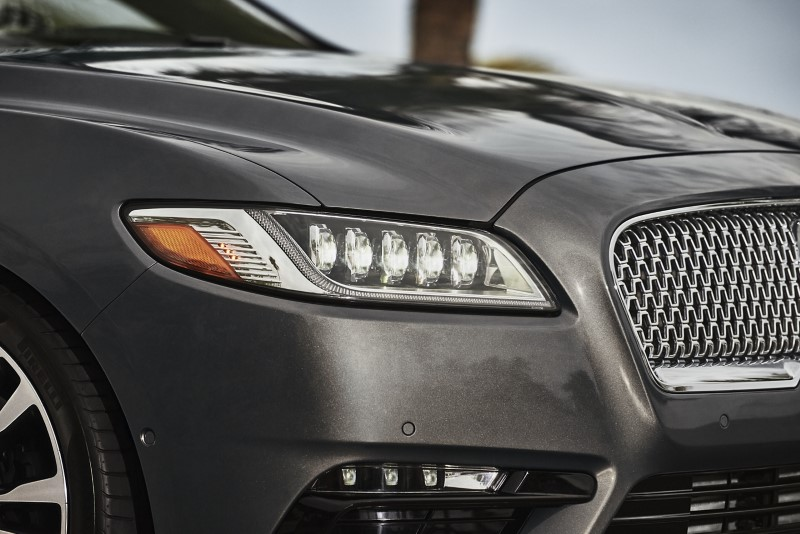 2021 Lincoln Continental Redesign Exterior With New Headlamp and Grille